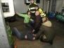 Oefening met de brandweer